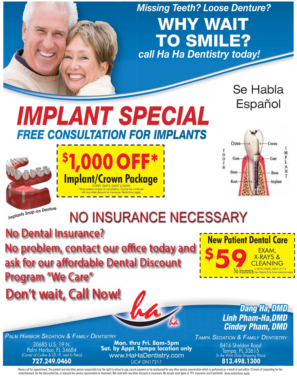 HaHa Sedation Implant Dentistry
